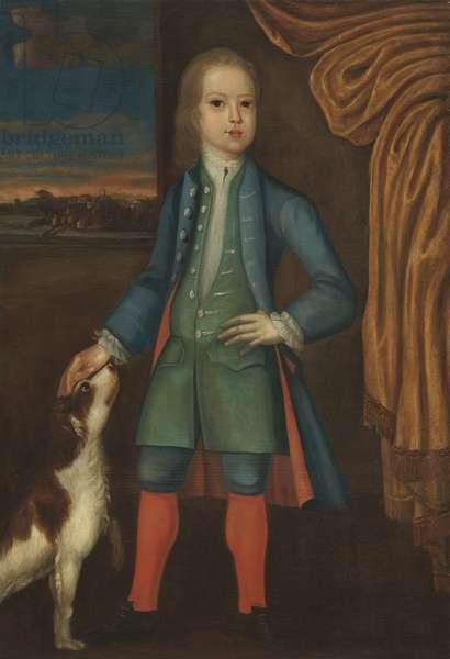 Boy in blue coat, c.1730 (oil on canvas)