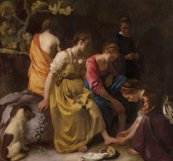 Diana and her Companions, c.1655-56 (oil on canvas)