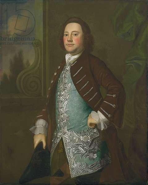Portrait of a Gentleman, c.1760 (oil on canvas)