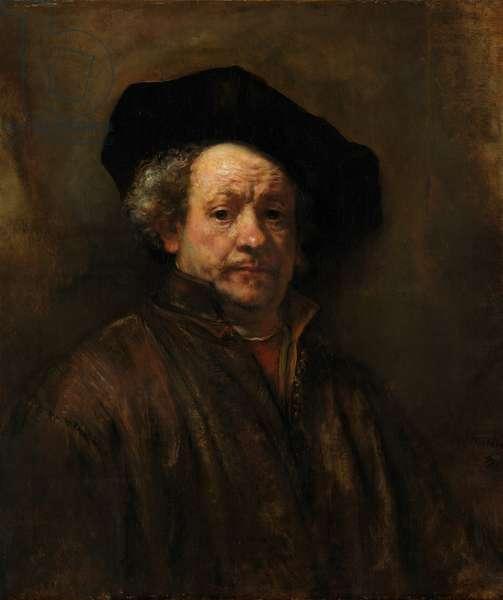 Self-Portrait, 1660 (oil on canvas)