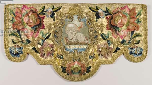 Ecclesiastical lectern hanging, c.1730 (textile)