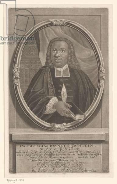 Jacobus Elisa Johannes Capitein, c.1742 (etching)