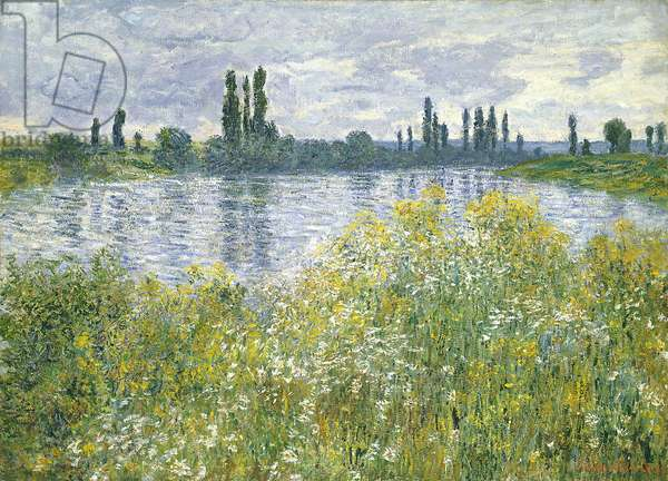 Banks of the Seine, Vetheuil, 1880 (oil on canvas)