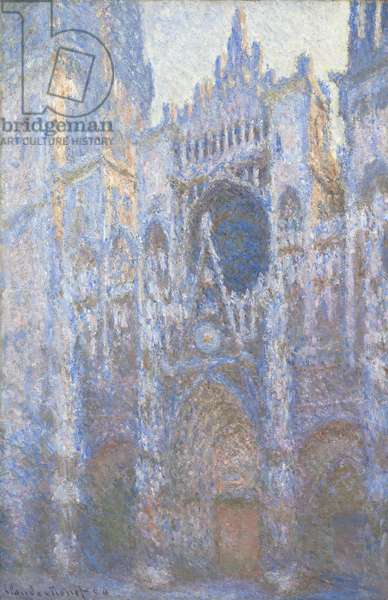 Rouen Cathedral, West facade, 1894 (oil on canvas)