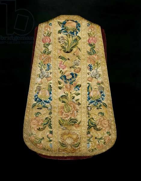 Priest's Chasuble c.1730 (textile)