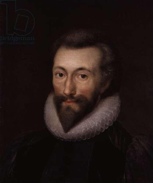 Portrait of John Donne (oil on canvas)