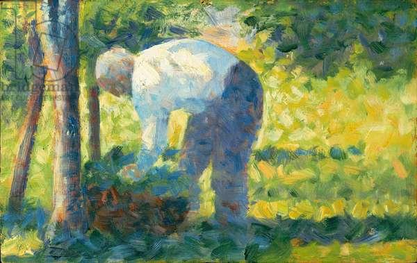 The Gardener, 1882-83 (oil on wood)