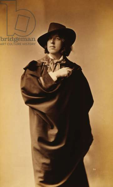Oscar Wilde, 1882 (albumen print)