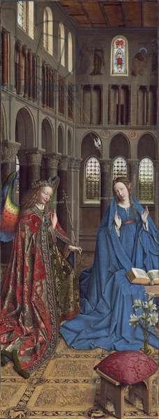 The Annunciation, c. 1434- 36 (oil on canvas)