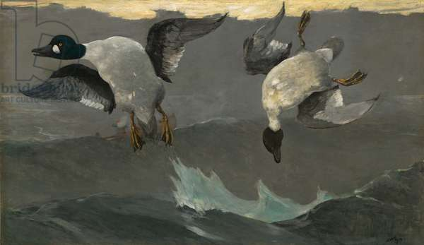 Right & Left, 1909 (oil on canvas)