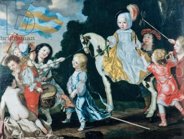 The children of Carl Gustav Wrangel, 1651 (oil on canvas)