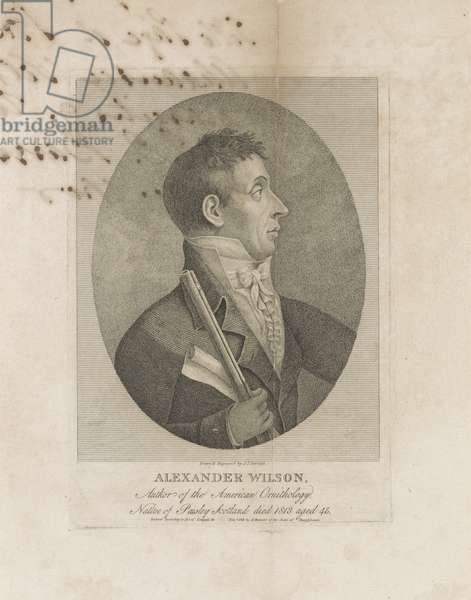 Alexander Wilson, 1814 (engraving)