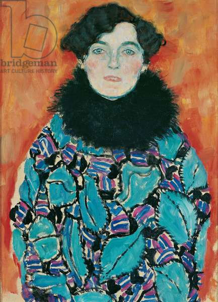 Portrait of Johanna Staude, 1917-18 (oil on canvas)