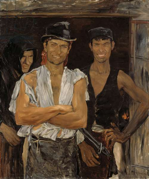 Spanish Smiths, 1881 (oil on canvas)