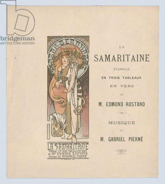 La Samaritaine, 1897 (colour litho)