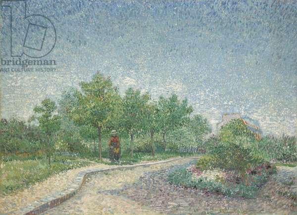 Square Saint-Pierre, Paris, 1887 (oil on canvas)