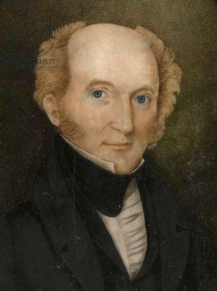 Martin Van Buren (1782-1862), c.1837 (w/c on ivory)
