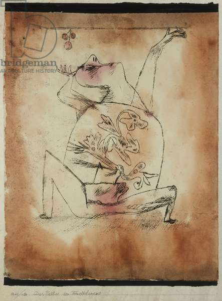 The Pathos of Fertility, 1921 (no 130) (oil transfer drawing and w/c on paper on cardboard)