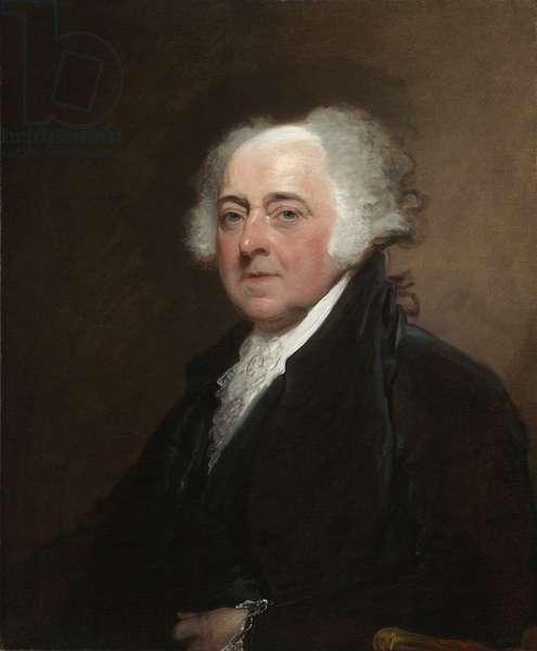 John Adams c.1800-15 (oil on canvas)
