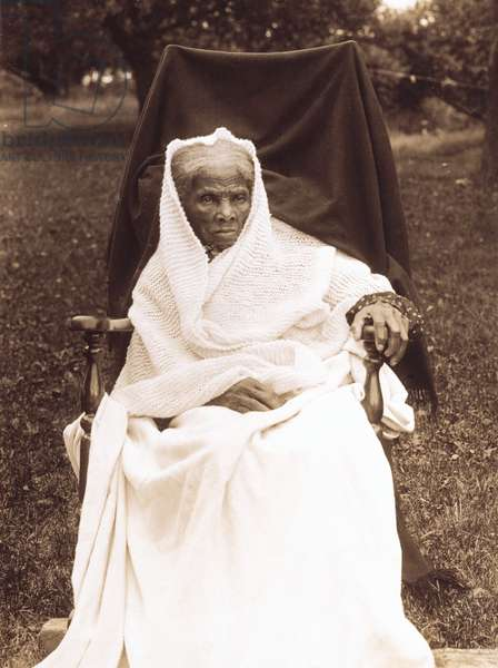 Harriet Tubman, probably at her home in Auburn, New York, 1911 (silver print photograph)