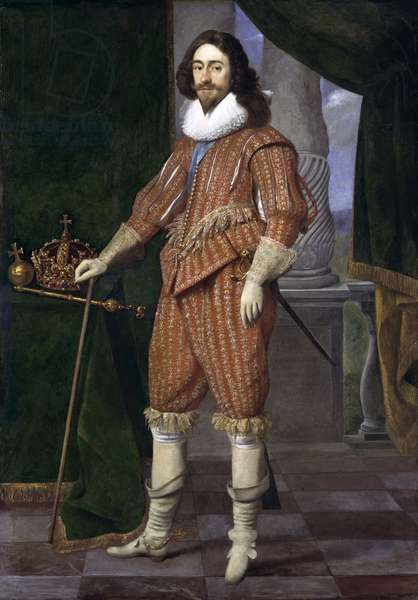 King Charles I, 1629 (oil on canvas)