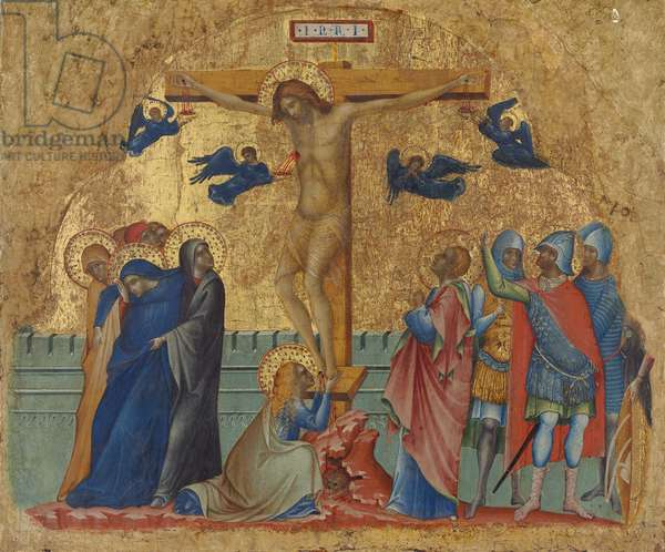 The Crucifixion, c.1340 (tempera on panel)