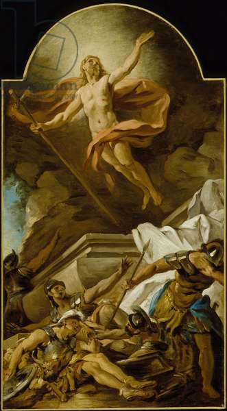The Resurrection, 1739 (oil on canvas)