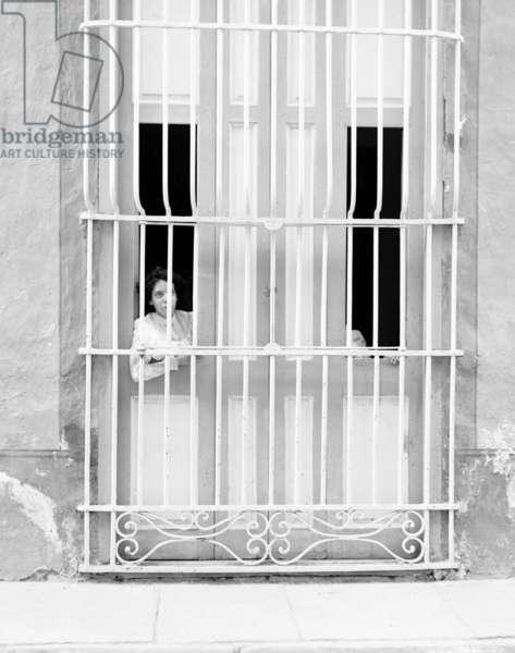 Havana window, c.1903 (b/w photo)