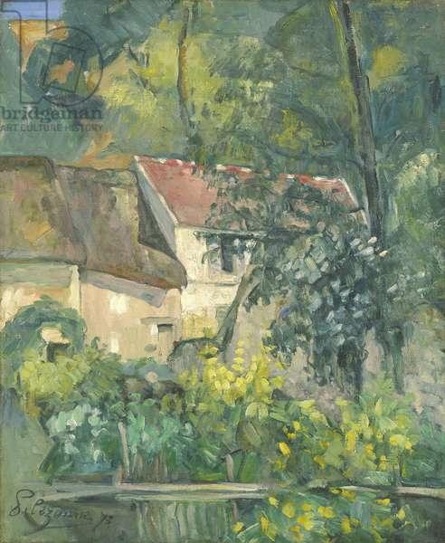 House of Père Lacroix, 1873 (oil on canvas)