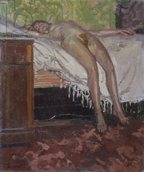 Reclining Nude (Thin Adeline), 1906 (oil on canvas)