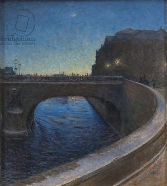 March Evening, 1900 (oil on canvas)