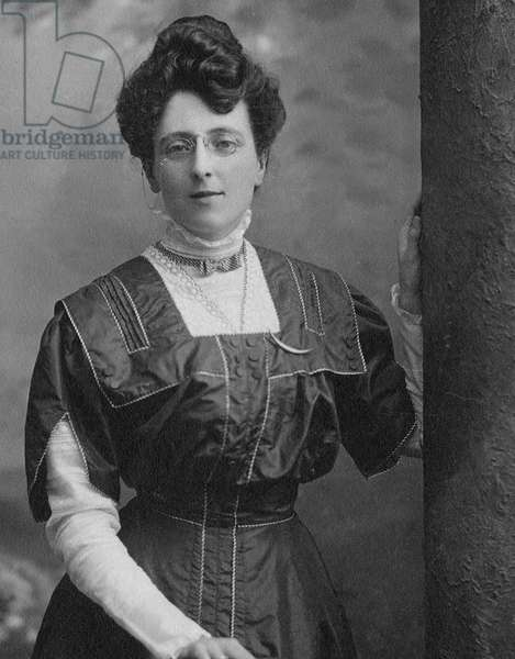 Lucy Maud Montgomery, c.1910 (b/w photo)