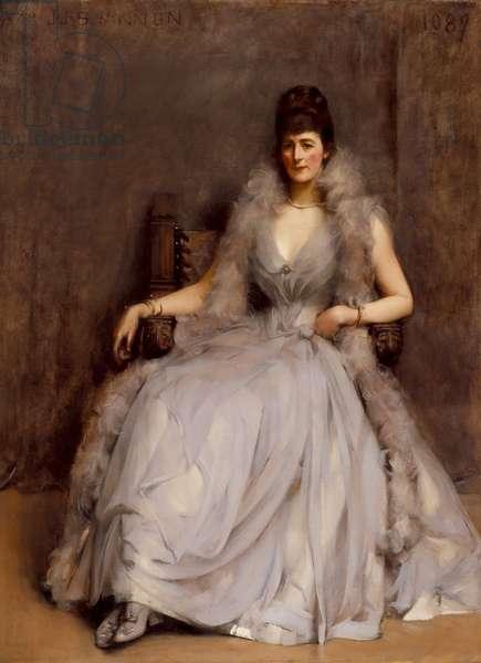 Portrait of Cecilia Tower, 1889 (oil on canvas)