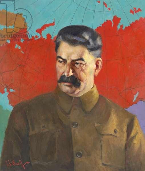 Joseph Stalin (1879-1953), 1937 (oil on canvas)