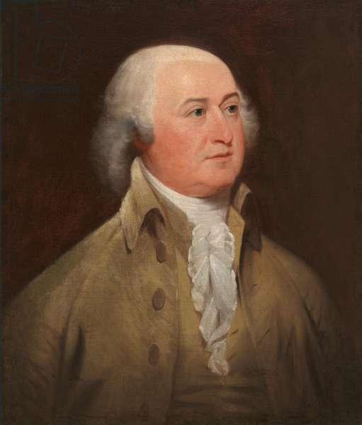John Adams (1735-1826), 1793 (oil on canvas)