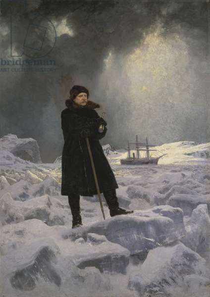 The Explorer A. E. Nordenskiold, 1886 (oil on canvas)