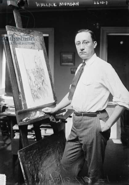 Wallace Morgan, 5 May 1913 (b/w photo)