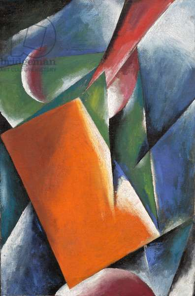 Architectonic Painting, 1917 (oil on canvas)