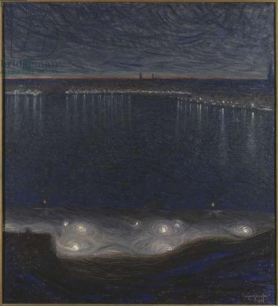 Riddarfjärden, Stockholm, 1898 (oil on canvas)