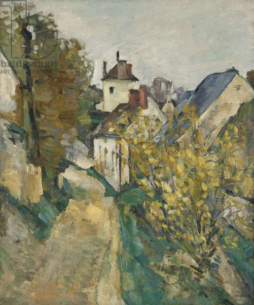 The House of Dr. Gachet in Auvers-sur-Oise, 1872-3 (oil on canvas)