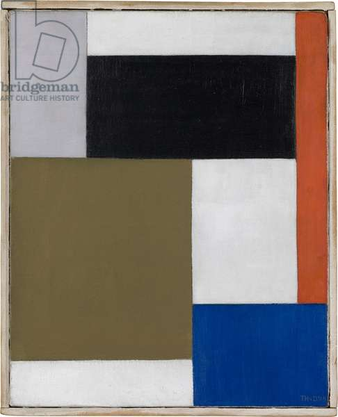 Composition, 1923-24 (oil on canvas)