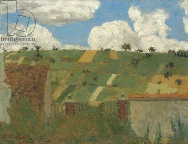 Landscape of the Ile-de-France, c.1894 (oil on cardboard)