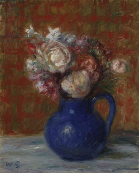 "Still life ""French Bouquet"", 1927 (oil on canvas)"