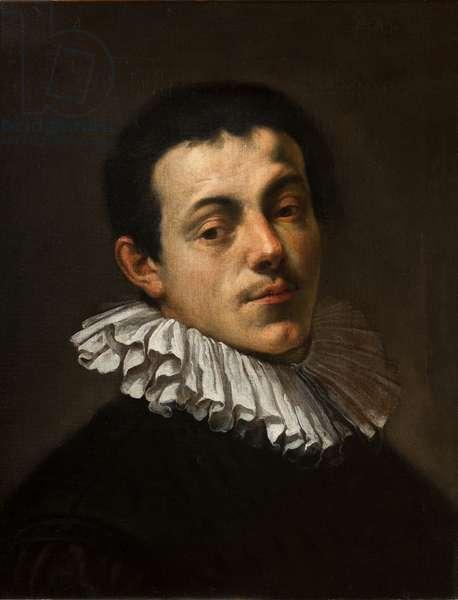 Portrait of the Painter Joseph Heintz, 1584-85 (oil on canvas)