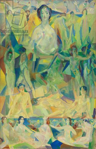 The Great Mother, c.1914 (oil on canvas)