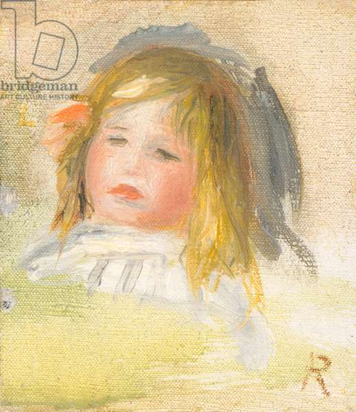 Child with Blond Hair, 1895-1900 (oil on canvas)