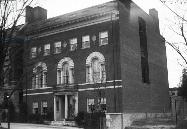 Woodrow Wilson House, c.1921 (b/w photo)