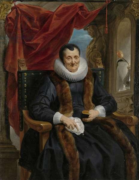 Portrait of Magdalena de Cuyper, c.1635-1636 (oil on canvas)