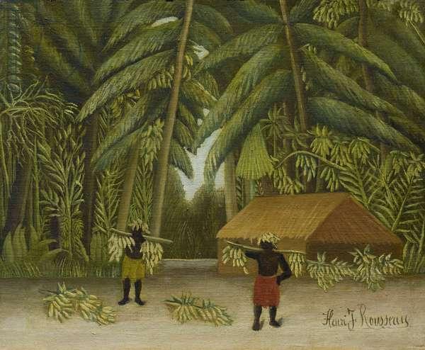 Banana Harvest, 1907-10 (oil on canvas)