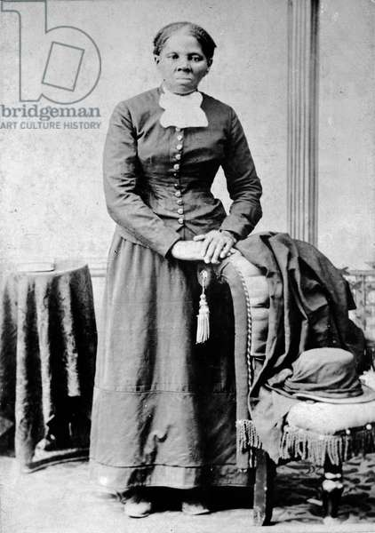 Portrait of Harriet Tubman, c.1870 (b/w photo)